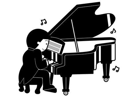 Grand piano 1c