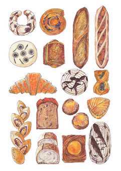 Bread various