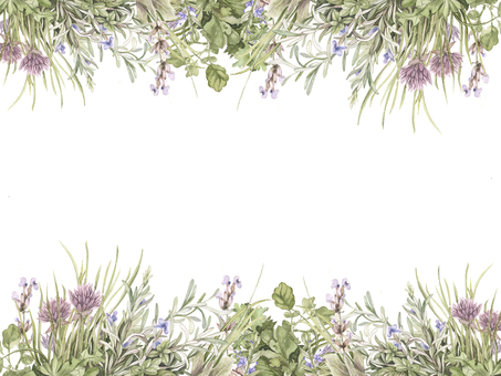 Flower frame 451 Herb flower frame