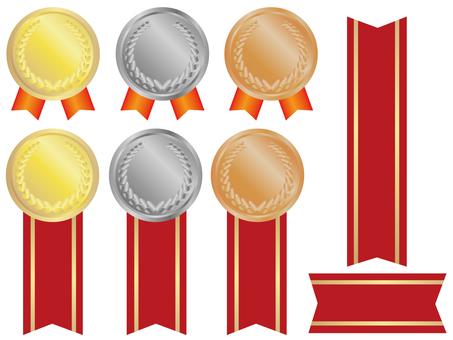 獎牌和絲帶