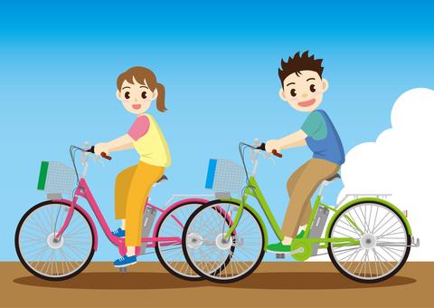 騎自行車3