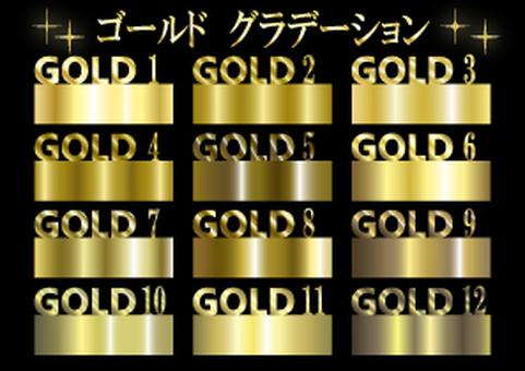Gold gradation