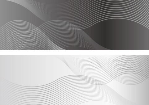 Wave pattern background set
