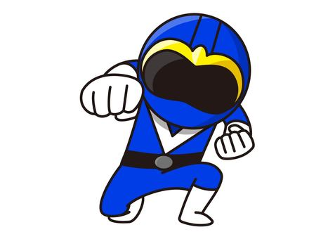 Blue Ranger - Punch