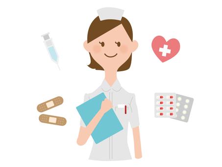 A nurse woman
