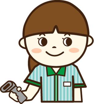 Convenience store clerk (cashier)