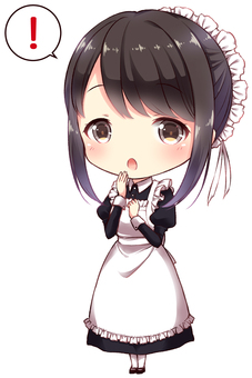 Clear type maid (surprise)