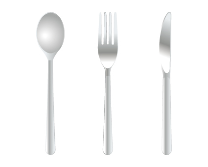 Knife fork spoon