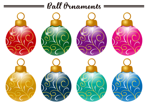 Christmas Ornaments A