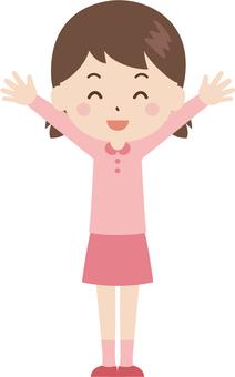 Girls | Elementary School Child | Clothes | Banzai