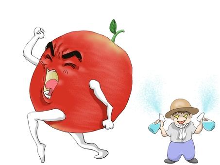 도망 사과 씨