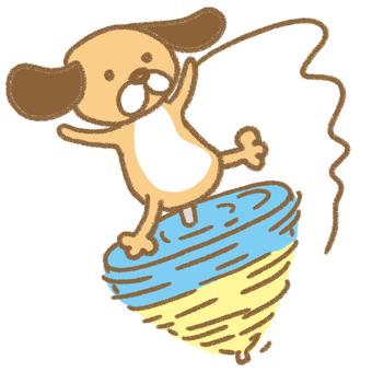Dog Rotator dog