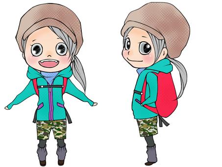 Hiking fashion