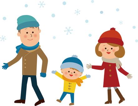Snow Snow Family Outing