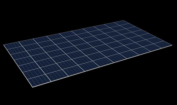 Solar panel CG