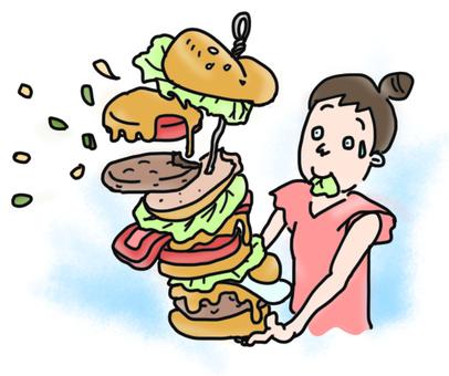 Unfortunate ending burger