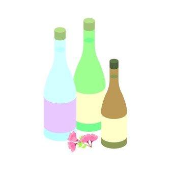술 · 꽃놀이