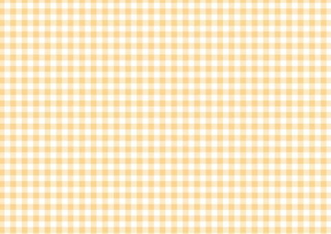 Autumn Orange ☆ Classic check pattern ☆ background material
