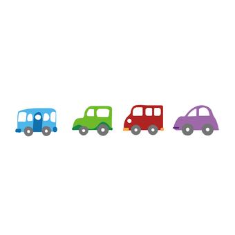 Cute car color variation