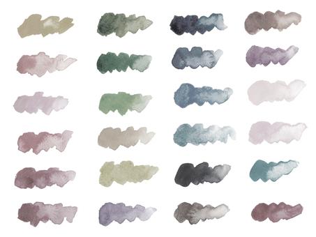 Watercolor stroke-5