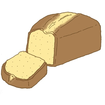 플레인 파운드 케이크