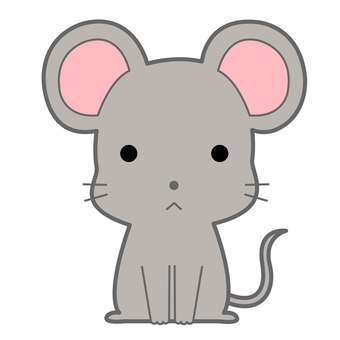 Animal illustration-mouse