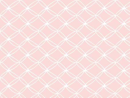 손으로 그린 패턴 ● 핑크