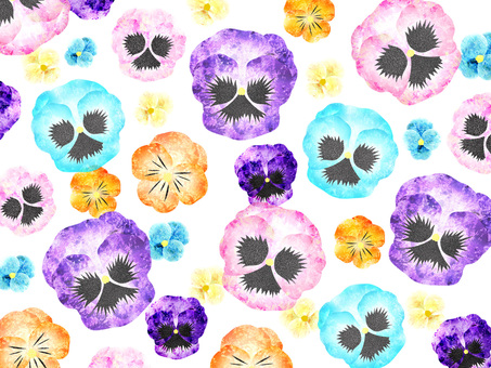 Pansy _ background 01