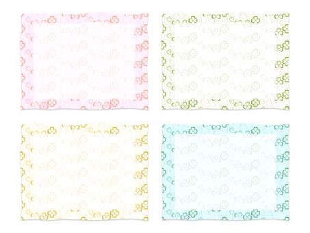 Clover card set