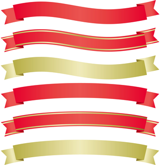 Ribbon decoration material