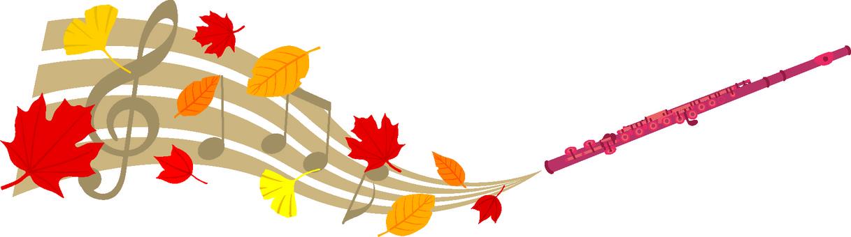 Autumn flute