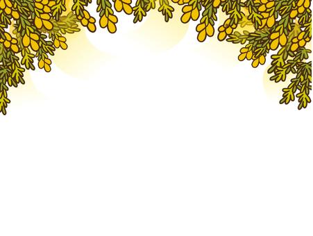Pollen background