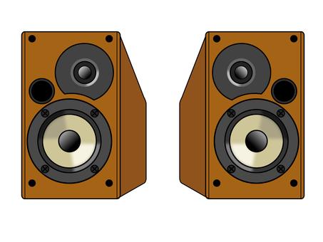 Speaker illustration