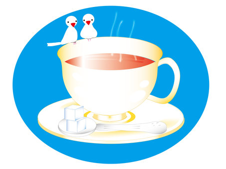 Little bird tea time
