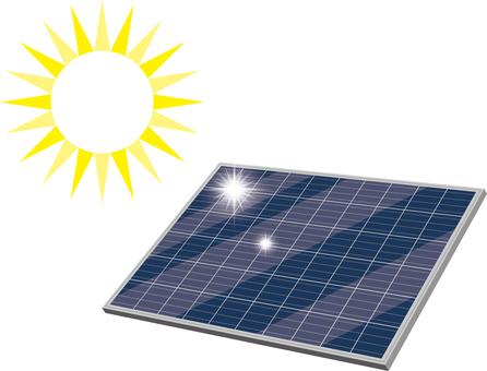 Solar panel solar