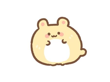 Rolling hamster