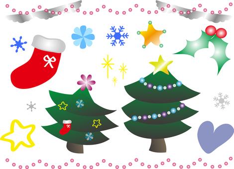 Cute Christmas Tree Parts
