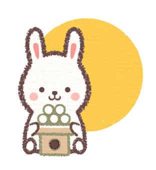 Offering rabbit moon