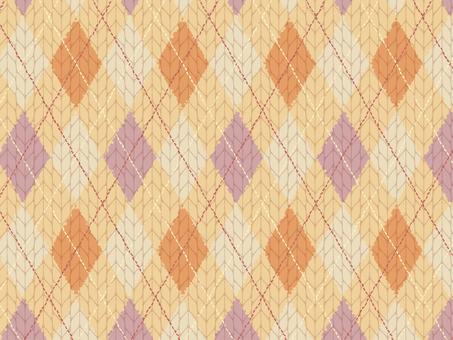 Argyleit knit material 3