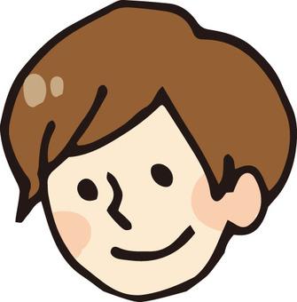 Face icon (male 2)