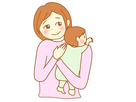 Gap after breastfeeding