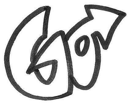 GO go logo logo