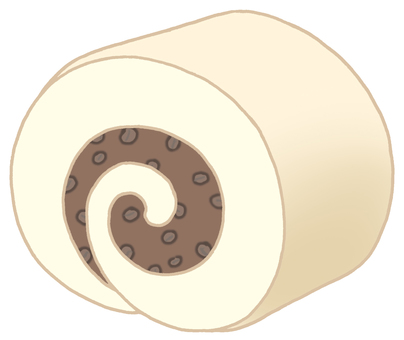 Roll cake. 11