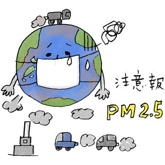 Air pollution PM2.5