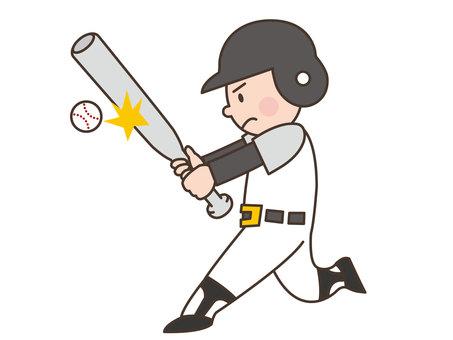 人物/子供/野球