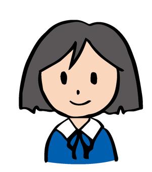 Uniform girl