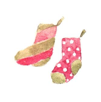 Christmas socks colorful
