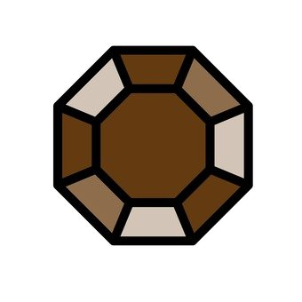 Brown jewel