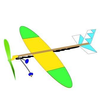 고무 비행기