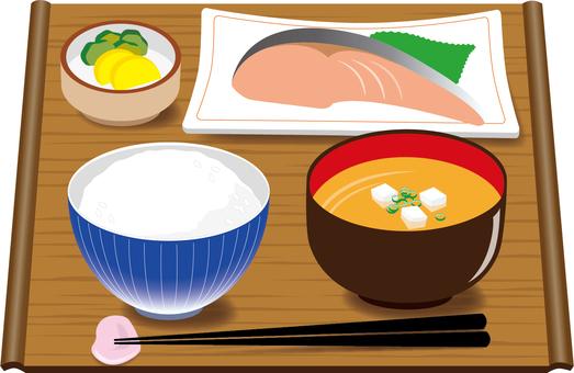 Food breakfast (in English)